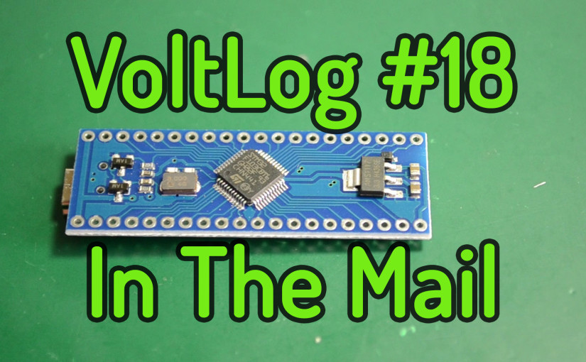 Voltlog #18 – InTheMail: 7020 LED Strip, STM32, STM8, Wireless Remote Dimmer