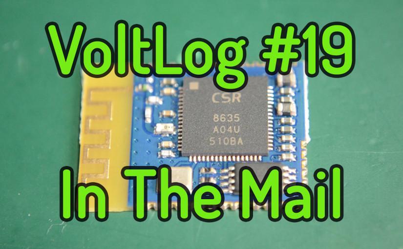 Voltlog #19 – InTheMail: PAM8403, PAM8406, PAM8610, TDA2030, BlitzWolf Charger, CSR8635