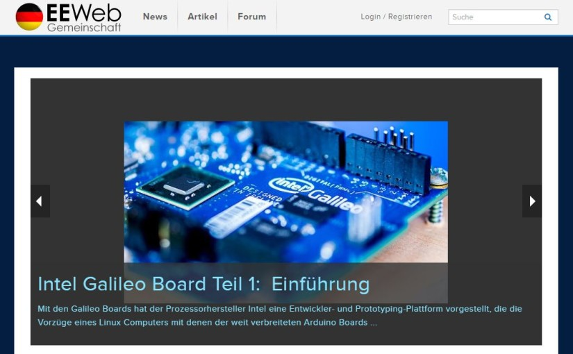 EEweb Europe – Electronics and Electrical Engineering Community
