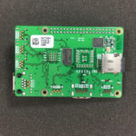The new raspberry pi 4 board top